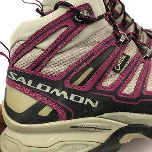 Salomon Gore-Tex Hiking Winter Boots Women's 8